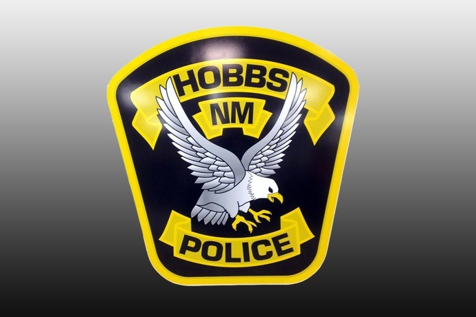 Hobbs NM Police logo patch seal 690_-2295551185228444267