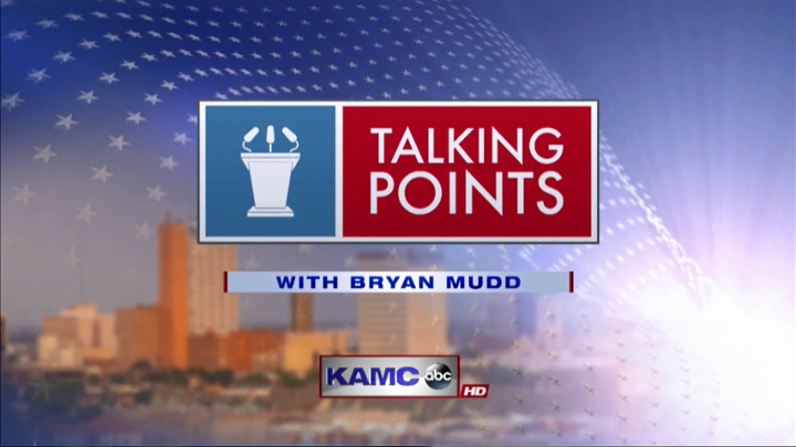Talking Points with Bryan Mudd Logo - 720