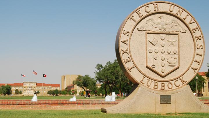 Texas Tech University Seal Statue - 720 v2