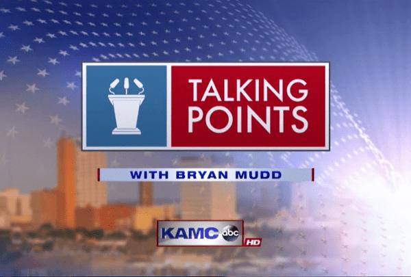 Talking Points with Bryan Mudd Logo - 720