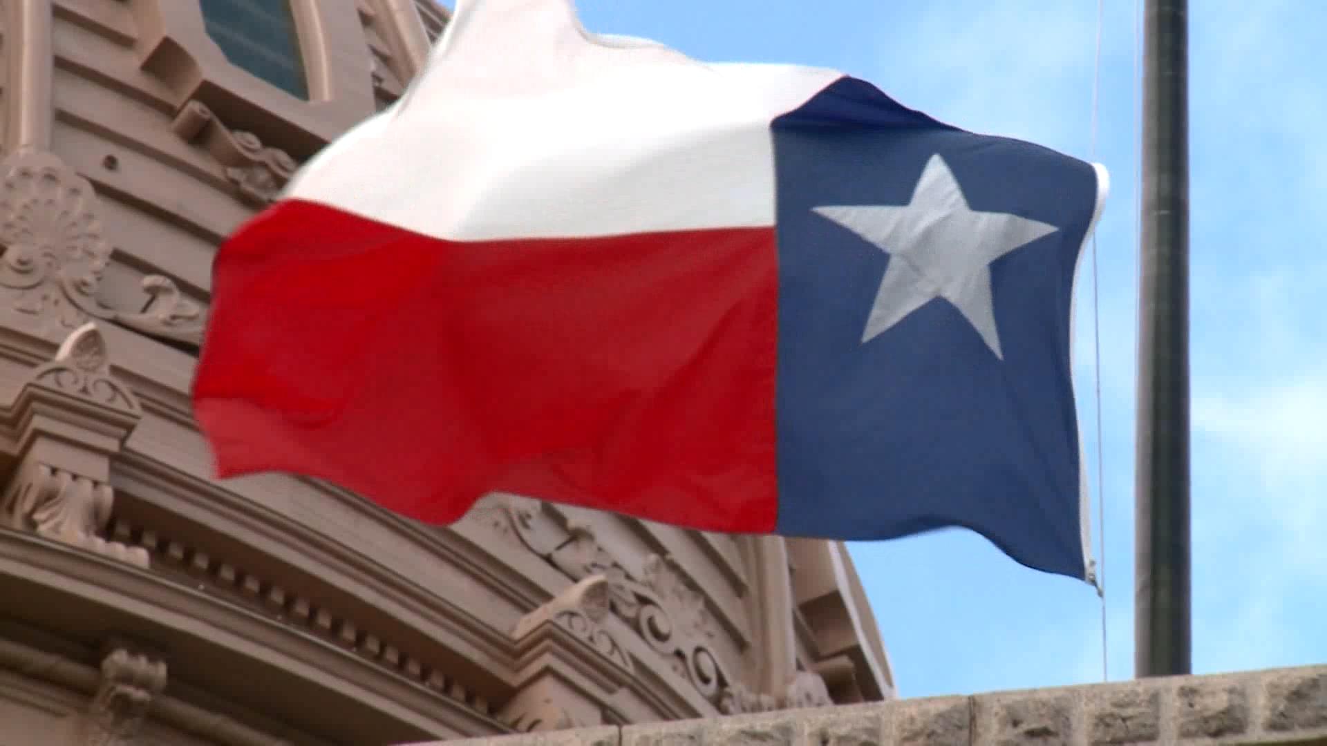 Texas Flag - 1920