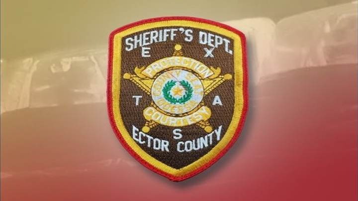 Ector County Sheriff's Office Badge - 720