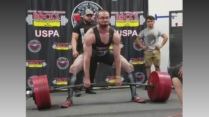 Lubbock Man Breaks World Record for Power-Lifting in His Weight Class