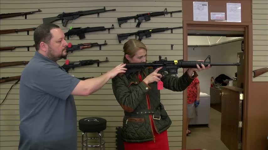 National Politics Changing Gun Sales_79235201