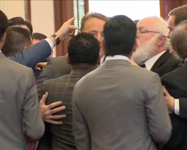 Session Ends with Fight on House Floor_43459644