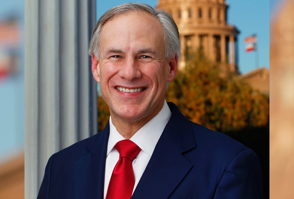 Governor Greg Abbott Official Photo - 720