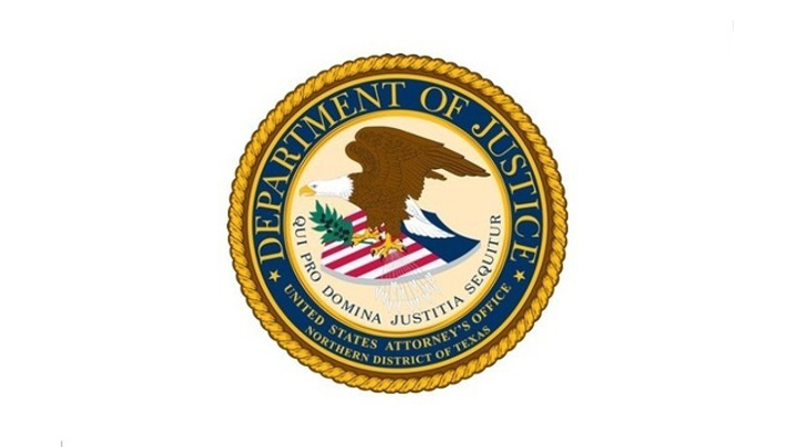 U.S. Attorney's Office, Northern District of Texas Logo - 720