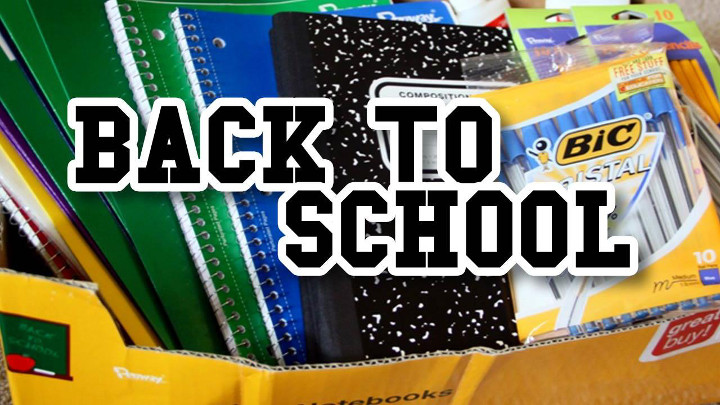 Back to School Supplies - 720