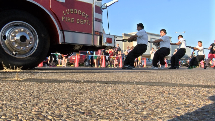 Lubbock Fire Truck Pull Challenge for Special Olympics Texas - 720