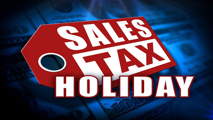 Sales Tax Holiday Graphic - 720