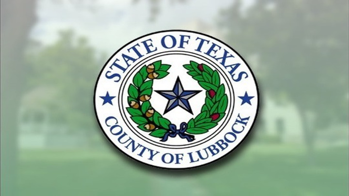 Lubbock County Seal - 720