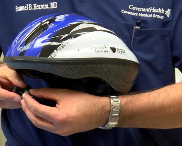 When buying a new bike, don't forget the helmet