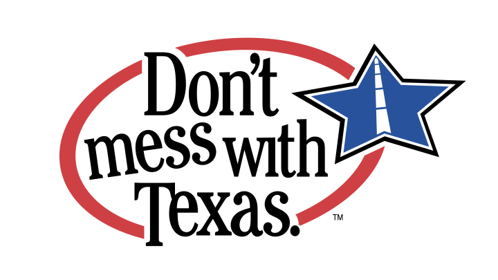 Don't Mess With Texas Logo - 720
