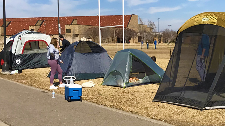 tents for game day 720