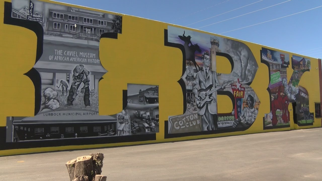 New Mural in East Lubbock