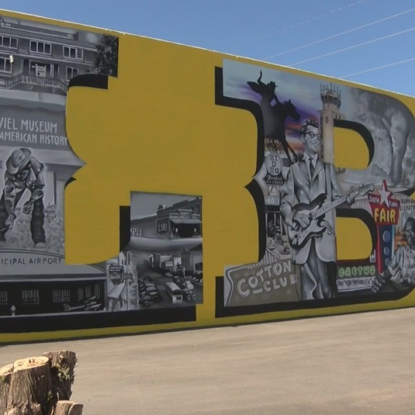 New Mural in East Lubbock