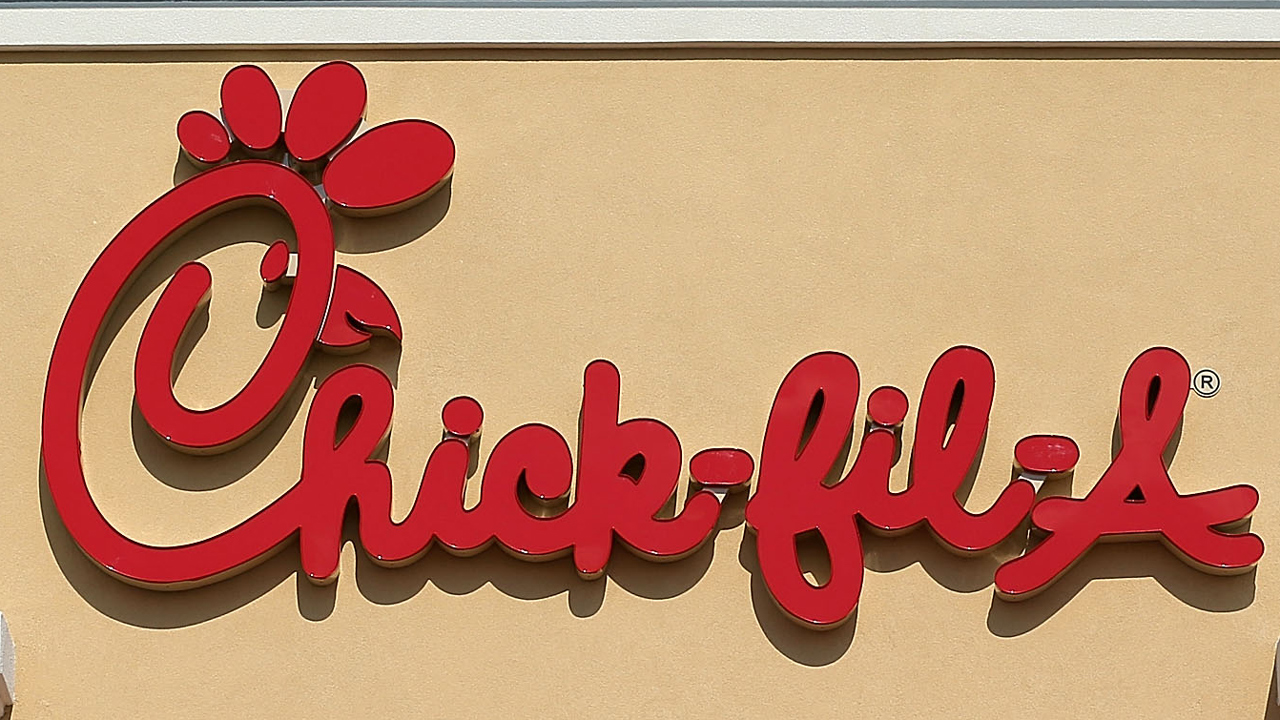 Chick-fil-A restaurant sign WFLA
