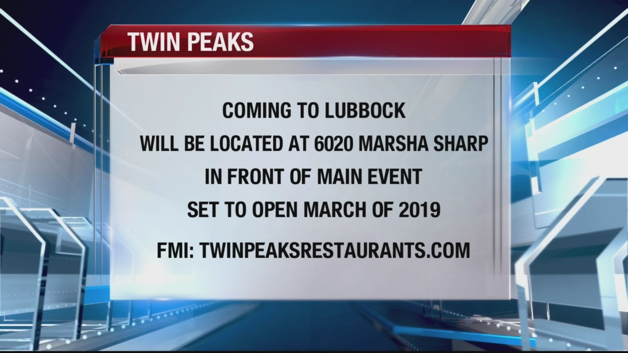 TTY- Twin Peaks coming to West Texas