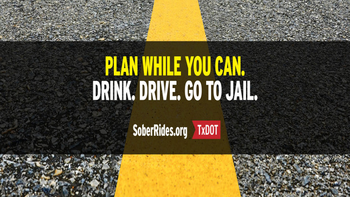 Plan While You Can Campaign from TxDOT Logo - 720