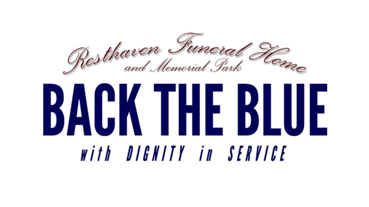 Back the Blue Event, Resthaven Funeral Home and Memorial Park - 720
