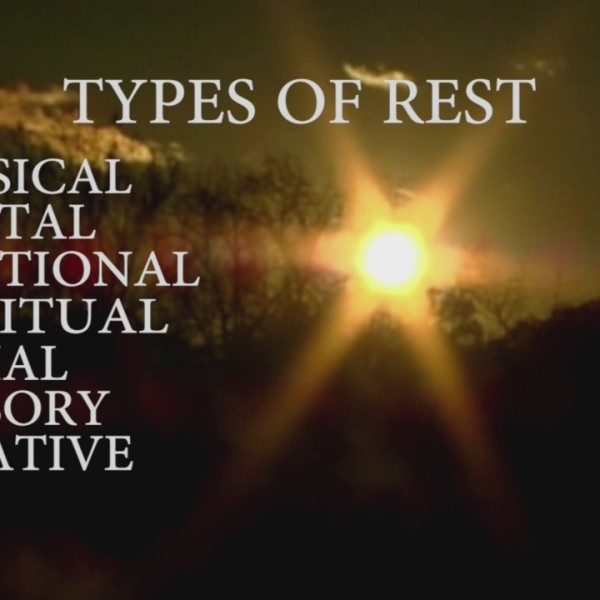 Intentional Living - Rest