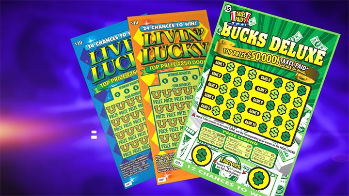 Lottery Scratch Offs - 720