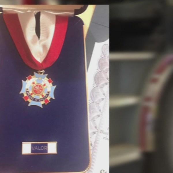 Lubbock Firemen Receive Medal of Valor