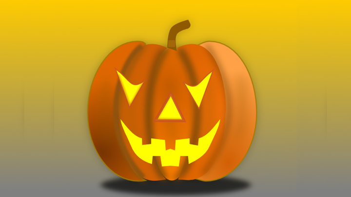 halloween pumpkin 720 public domain