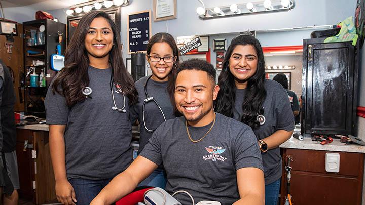 TTUHSC Medical Students, Blood Pressure at Barber Shops (November 2018) - 720