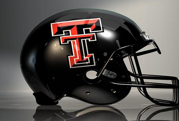 Texas Tech Football, TTU Football Helmet - 720