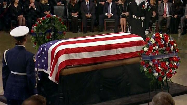 Bush 41 Lying in Repose at U.S. Capitol (2018) - 720