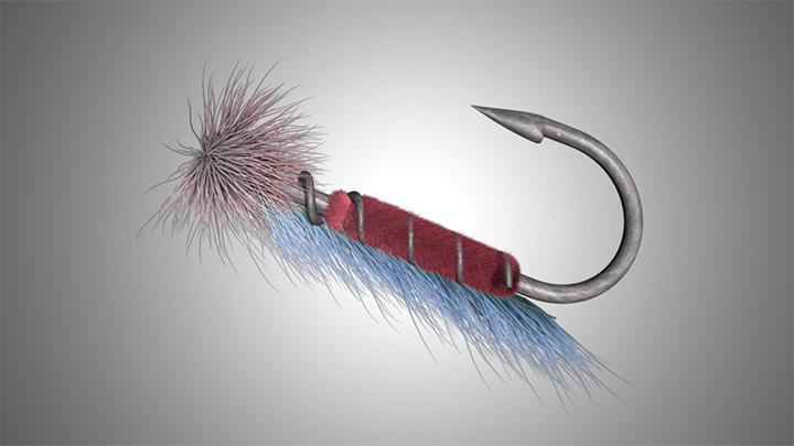 Fly Fishing Lure - 720