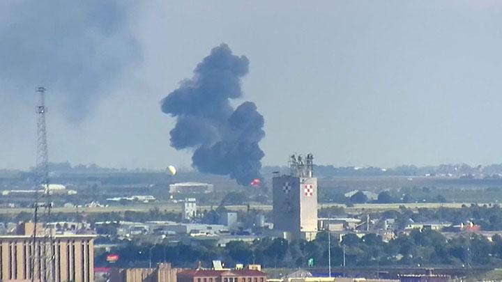 LFR Fire Training Near Lubbock's Airport - 720