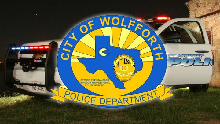 Wolfforth Police Department Logo & Seal - 720