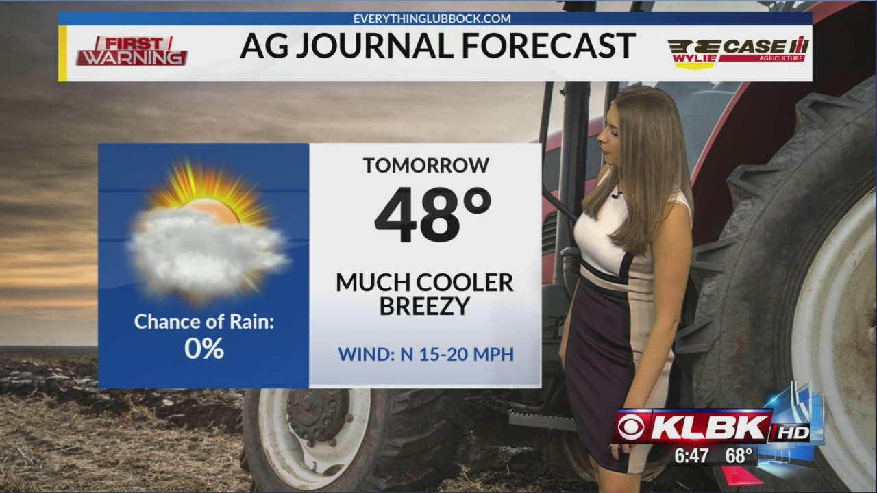 Ag Journal Weather Forecast - Week of January 21st