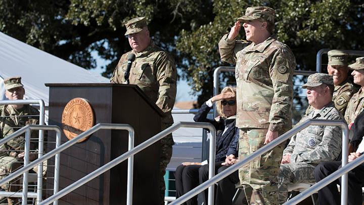 Maj. Gen. Tracy Norris becomes 52nd Adjutant General of Texas - 720