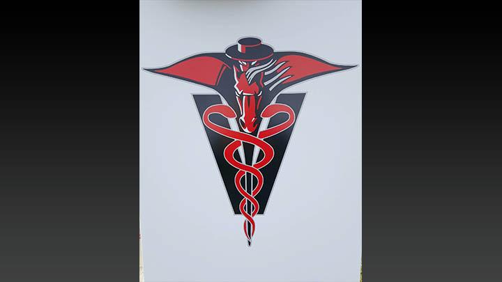 TTU School of Veterinary Medicine, TTU Vet School in Amarillo Logo - 720