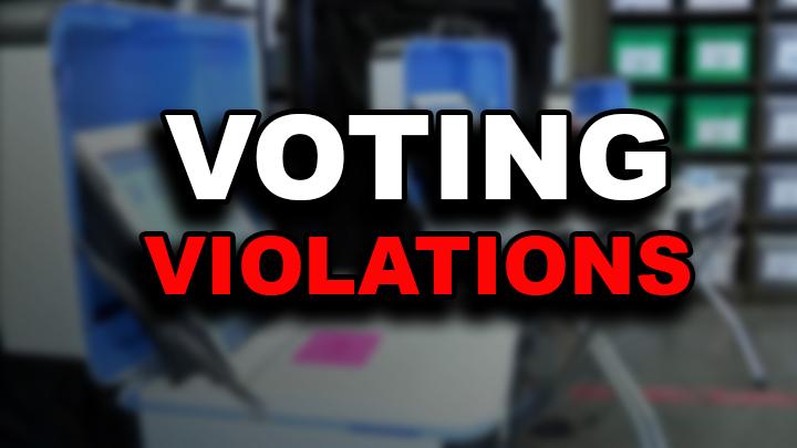 Voting Violations 720