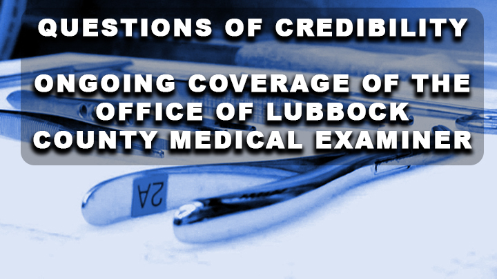 medical Examiner GFX questions of credibility