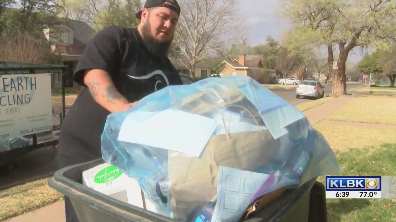 Recycling in West Texas