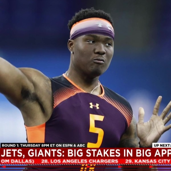 Giants future hinges on No. 6 pick, Ohio State's Haskins in play