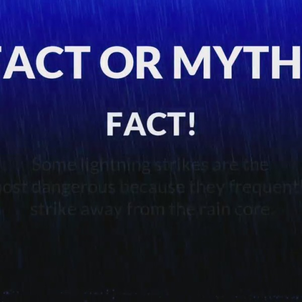 Weather Ready Nation Report: Lightning Facts vs. Myths