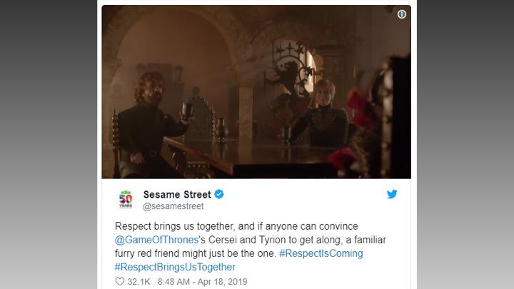Sesame Street Game of Thrones Respect 720