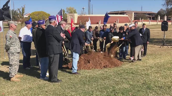 Monument of Courge Ground Breaking (November 2018) - 720