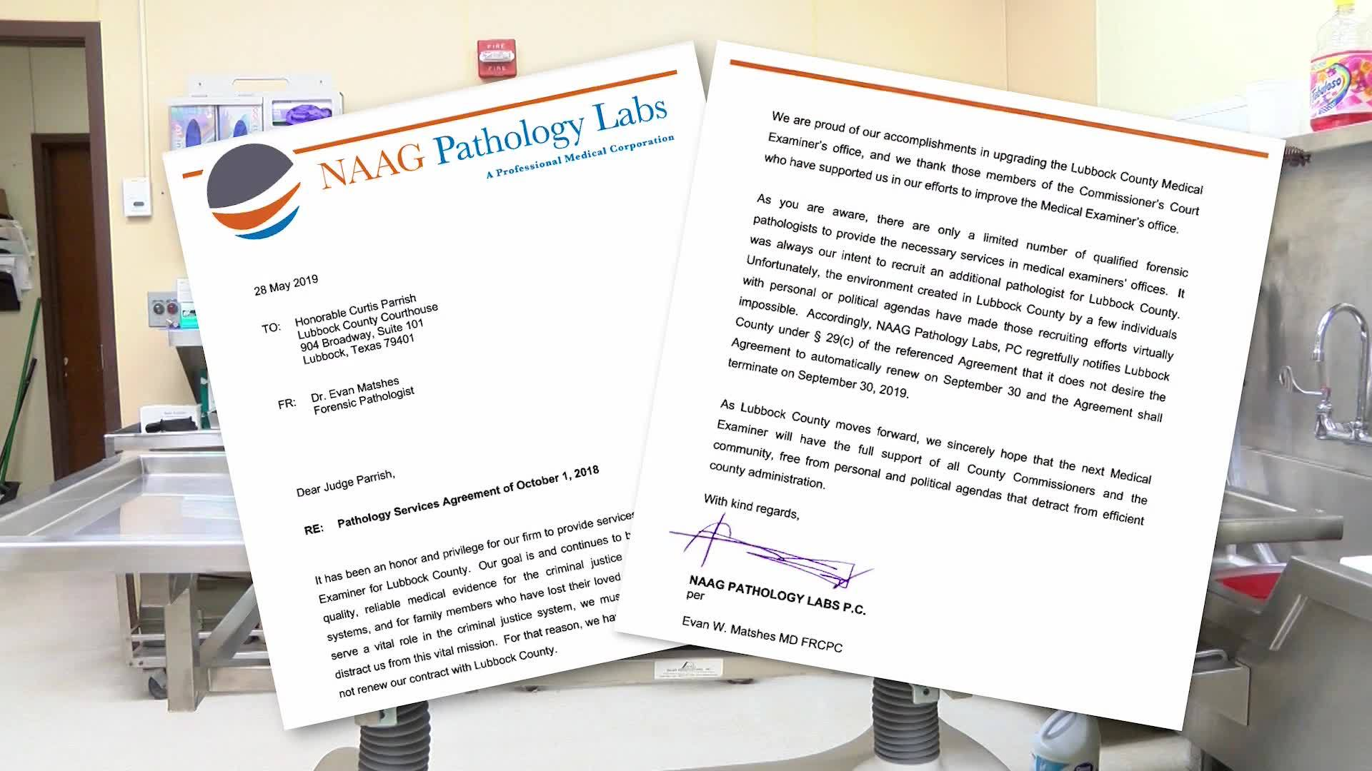 Naag Cites Toxic Political Environment For Medical Examiner Allegations Klbk Kamc Everythinglubbock Com