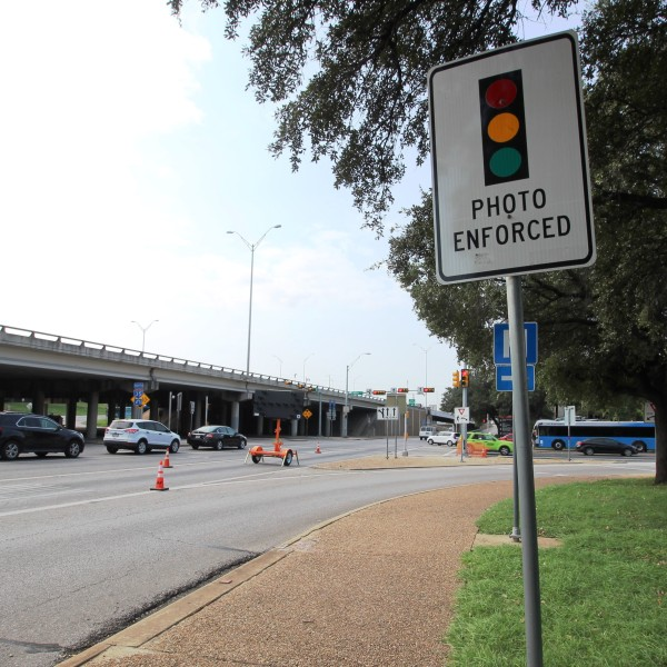 RED LIGHT CAMERA INTERSECTION