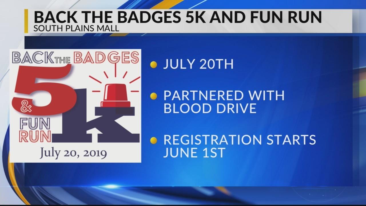 Terri Tells You - Back the Badges 5K and Fun Run