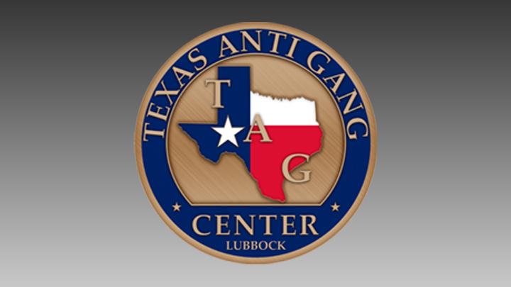 Texas Anti Gang Center logo 720 TAG logo
