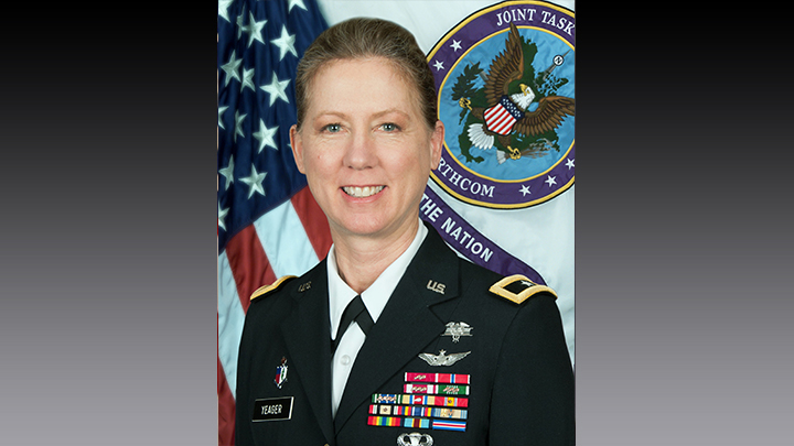 Brigadier General Laura Yeager Photo - 720