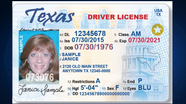 Reminder: Your driver's license needs a star if you want to use it to  travel by air next year   KLBK   KAMC   EverythingLubbock.com
